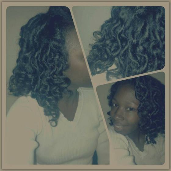 Trial with Bantu Knots