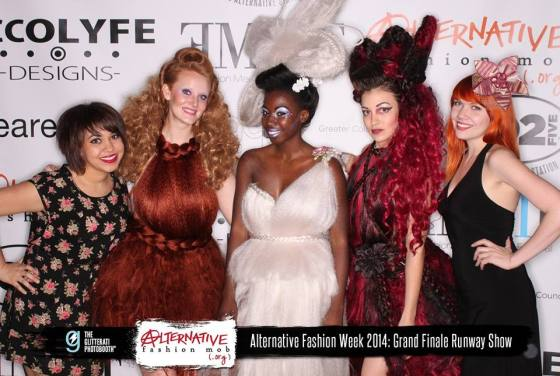 Synthetic Rebellion at Grand Finale Runway Show - Columbus Alternative Fashion Week 2014 Credit - Alternative Fashion Mob