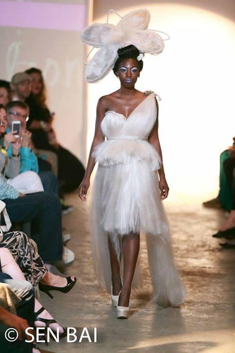 Grand Finale Runway Show - Columbus Alternative Fashion Week 2014 Photo Credit - Sen Bai Designer - Synthetic Rebellion Hair - Brianne & Kaylen of Synthetic Rebellion Makeup - Matthew Hoenie